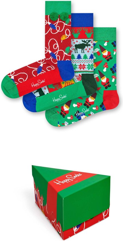 Happy Socks Holiday Giftbox - Maat 41-46