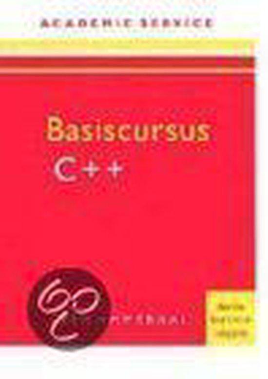 Basiscursus C++ 3e