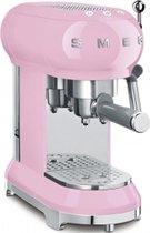 Smeg ECF01PKEU - Pistonmachine - Roze