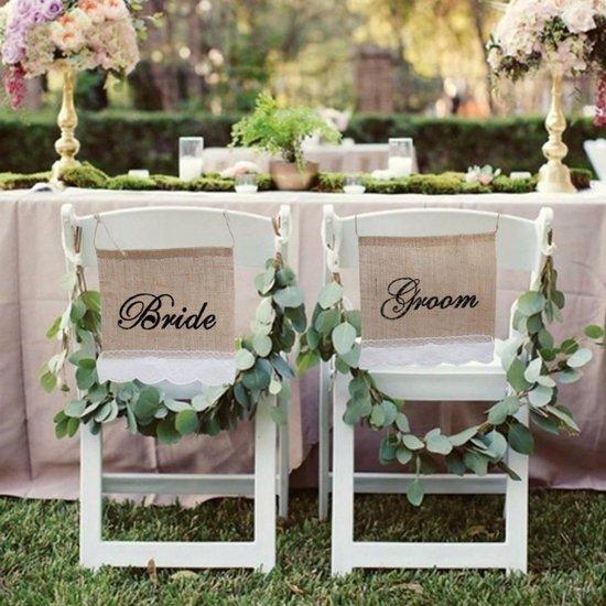 Bol Com Bride Groom Slinger Bruiloft Decoratie
