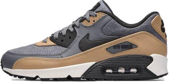 Nike Air max 90 Premium 700155-010 Grijs-Bruin maat 45