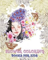 Flower Coloring Books for Kids