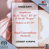 Mozart: Symphonies No. 31 & 38 - Krips -SACD- (Hybride/Stereo/5.1)