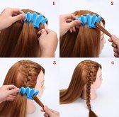 Vlecht hulpstuk - vlechten tool haarclip simpel Frans vlechten - Blauwe Braid hulp