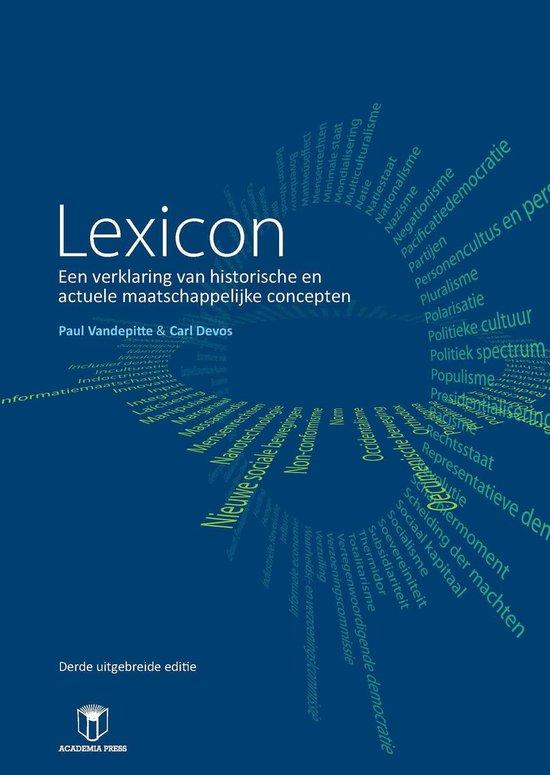 Lexicon - Geert van den Bossche |