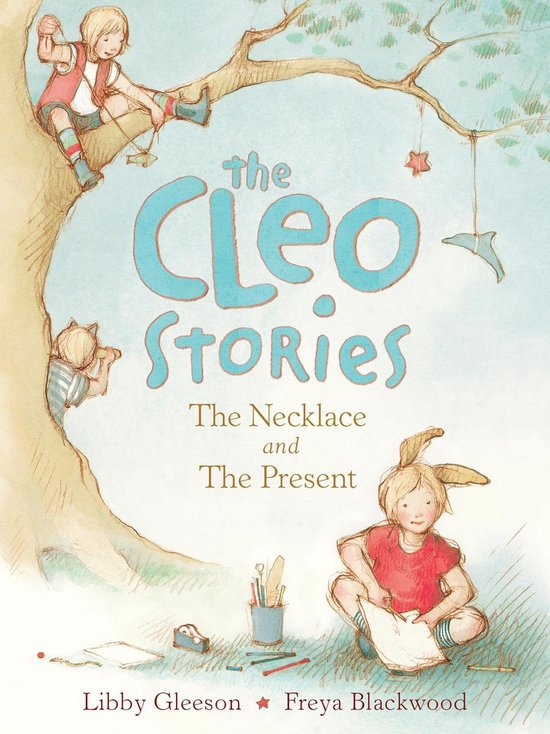 Boek cover The Cleo Stories 1: The Necklace and the Present van Libby Gleeson (Onbekend)