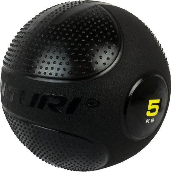 Tunturi Slam Ball - Slam Ball Crossfit - 5 kg - Zwart