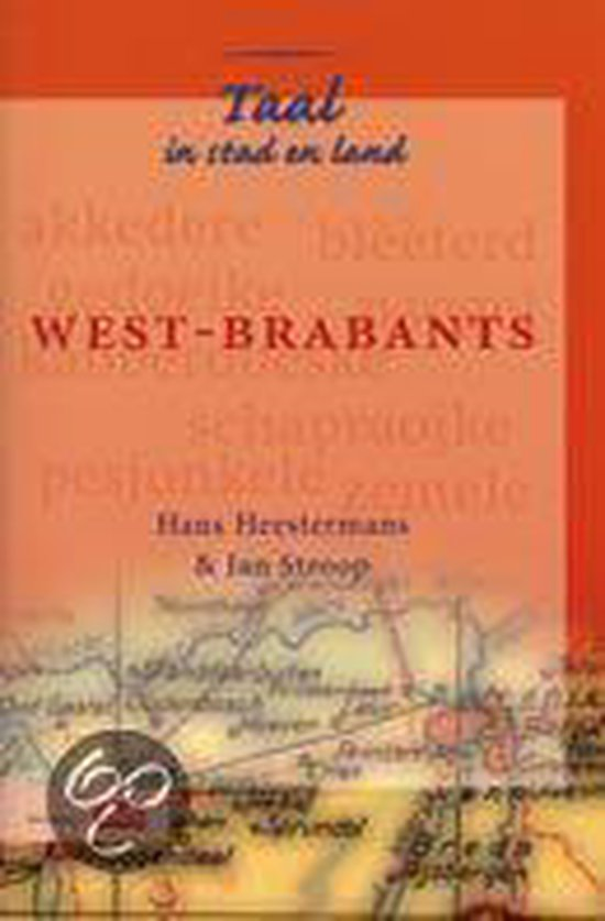 Boek cover West-Brabants van Hans Heestermans (Paperback)