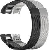 YONO Milanese bandjes - Fitbit Charge 2 - 2-pack