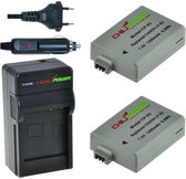 ChiliPower LP-E5 Canon Kit - Camera Batterij Set