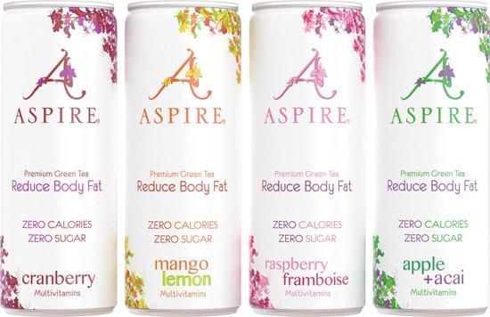 Aspire Drinks - Mango Lemon - 12 x 250ml