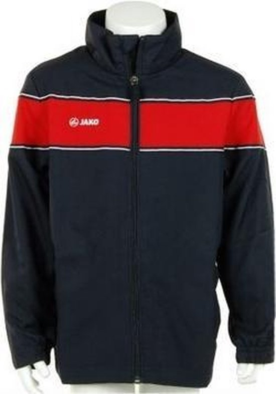 Jako Woven Jack Player Junior - Sportshirt - Kinderen - Maat 164 - Dark Navy;Red