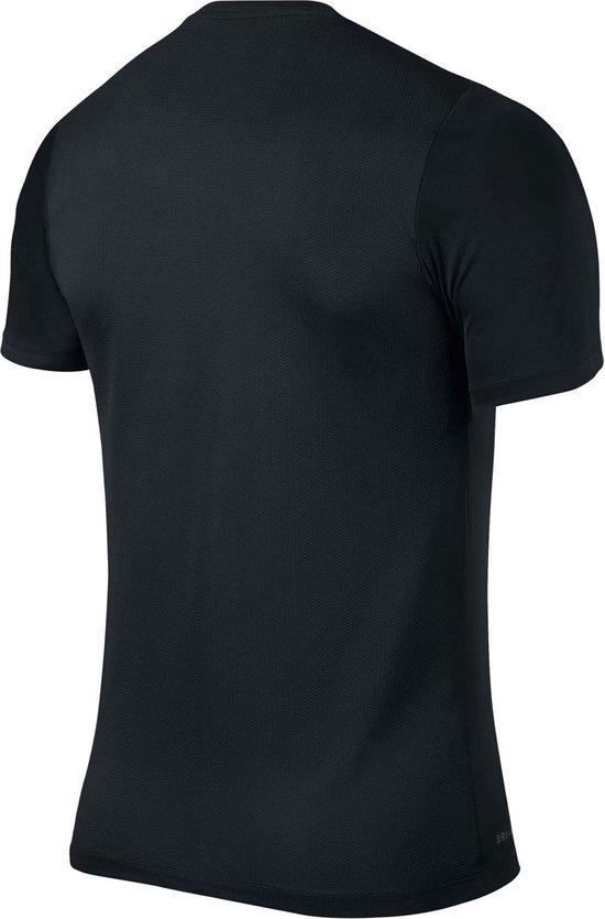 Nike Sportshirt - Maat S  - Kinderen - zwart wit - Nike