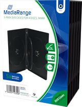 MediaRange DVD doosje 4de DVD Box 5 stuks