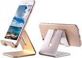 Trendfield Telefoon Houder voor Bureau - iPhone Telefoonhouder Tafel Standaard - Zilver