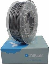 FilRight Maker Filament PLA  - Grijs metaal - 1.75mm