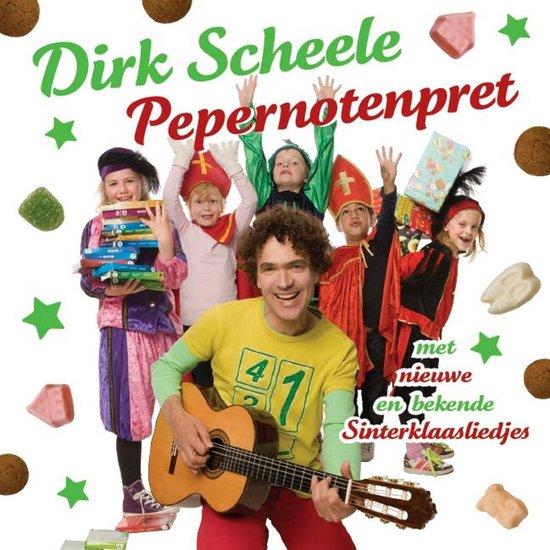 CD cover van Pepernotenpret van Dirk Scheele