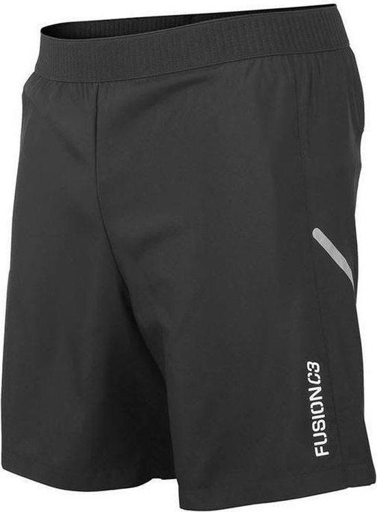Fusion C3 Run Shorts Zwart UnisexSize : L