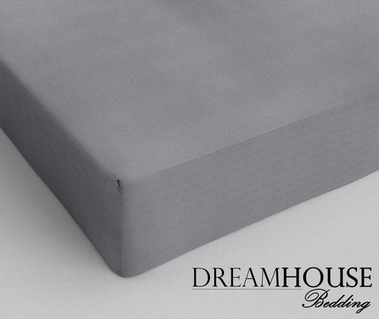 Dreamhouse Hoeslaken - Katoen - 140x200 - Grijs - Lekker Koel