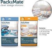 Packmate - Vacuümzakken (6-delig) - Vacuüm Opbergzakken - Ruimte besparen
