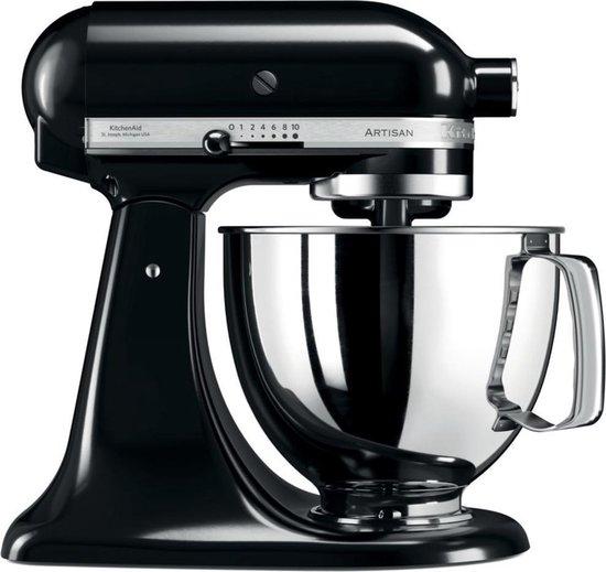 KitchenAid Artisan 5KSM175PSEOB - Keukenmachine - Onyx Zwart