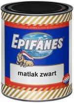 Epifanes bootlak mat zwart