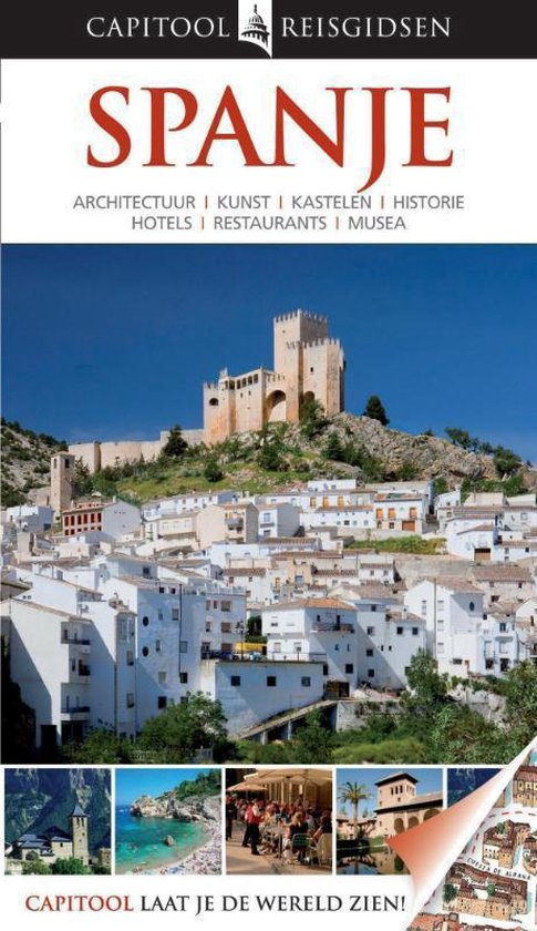 Boek cover Capitool reisgidsen - Spanje van John Ardagh (Hardcover)