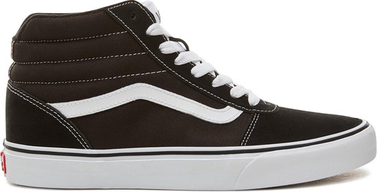 bol.com | Vans Ward Hi Heren Sneakers - (Suede Canvas) Black ...