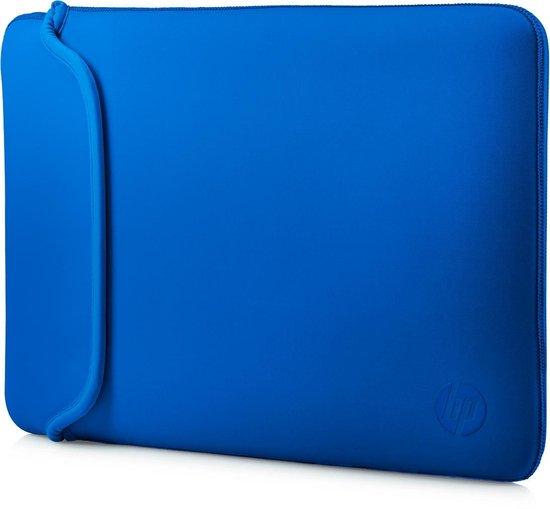 HP Neopreen - Laptop sleeve - 15,6 inch - Zwart/ Blauw