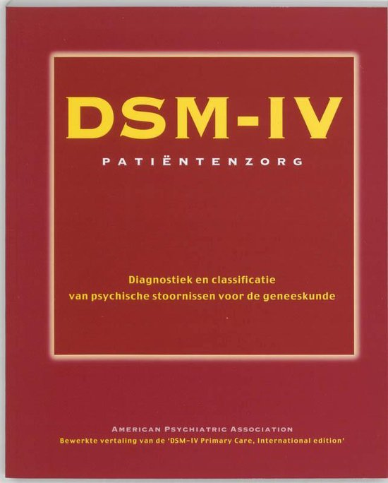 DSM-IV patientenzorg - Onbekend |