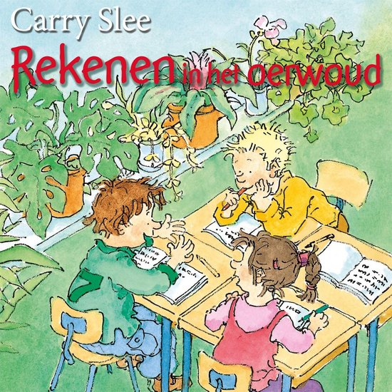 Boek cover Rekenen in het oerwoud van Carry Slee (Binding Unknown)
