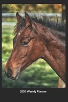 Plan On It 2020 Weekly Calendar Planner - I Love Horses