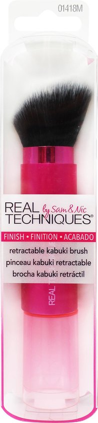 Real Techniques Retractable Kabuki Brush - Make-up Kwast - Real Techniques