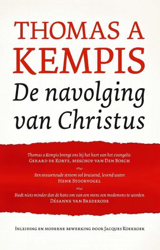 De navolging van Christus - Thomas à Kempis | Fthsonline.com
