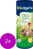Biokat's Deo Pearls Spring - Kattenbakreinigingsmiddelen - 2 x 700 g