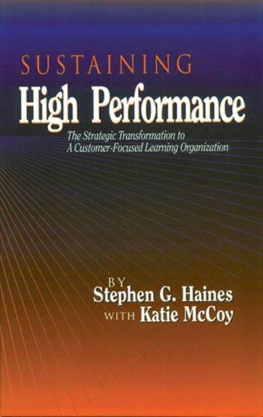 Boek cover SUSTAINING High Performance van Stephen Haines (Hardcover)