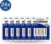 Hyundai - AA Batterijen - Alkaline - 24 stuks