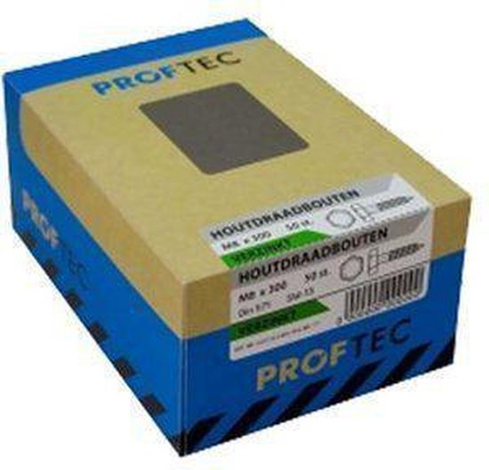 Proftec-Tap Bout DIN933 RVS-A2 M12X30mm  10 stuks