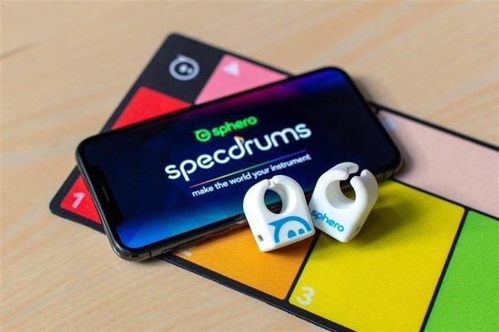 Thumbnail van een extra afbeelding van het spel Sphero Specdrums Muzikaal Speelgoed DJ - App - Leerzaam