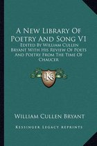 A New Library of Poetry and Song V1