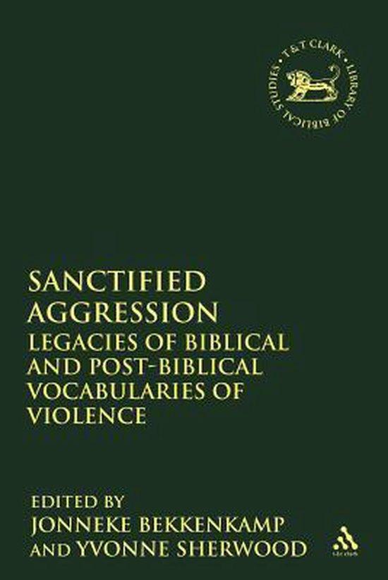 Boek cover Sanctified Aggression van  (Paperback)