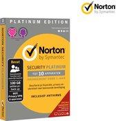 Norton Security Platinum Edition | 1 Jaar | 10 App