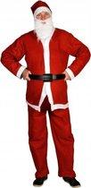Voordelig  kerstman pak 5 delig