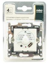 NIKO universele inbouw dimmer met draaiknop - geschikt voor Original en Intense - tot 325W