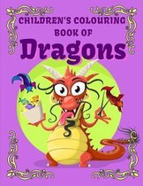 Children's Colouring Book of Dragons