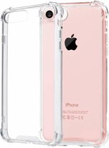 Pearlycase Transparant TPU Siliconen Case backcover Hoesje voor iPhone 7/ 8 (verstevigde randen)