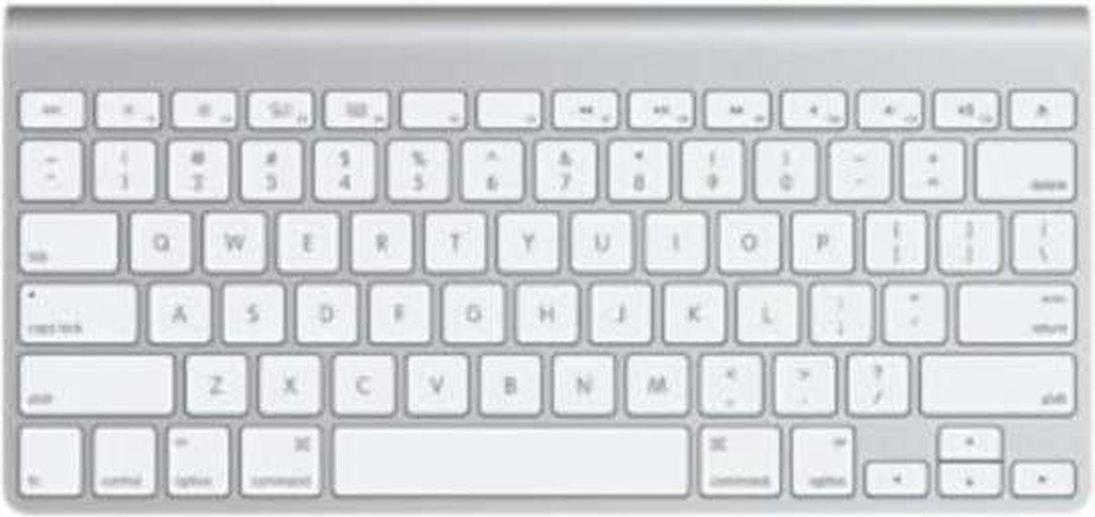 Apple Wireless Keyboard MC184NB Draadloos Toetsenbord Qwerty Grijs