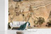 Luchtfoto van de bruine rotsen in het Nationaal park Santa Fe fotobehang vinyl breedte 540 cm x hoogte 360 cm - Foto print op behang (in 7 formaten beschikbaar)