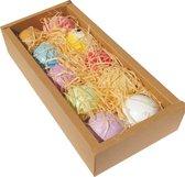 10 x XXL 100% Natuurlijke Bad Bruisballen - Unieke Mix van Etherische Oliën - Aroma Badbommen - Handmade Bath Bombs