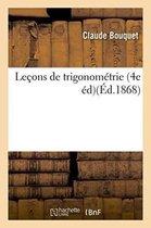 Lecons de trigonometrie, 4e edition